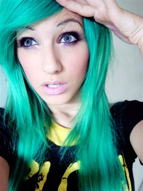 turquoise hair color bright green hair hair colors ideas