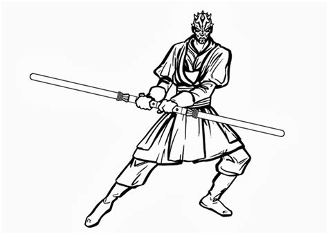 Darth Maul Coloring Pages darth maul coloring pages free coloring pages and