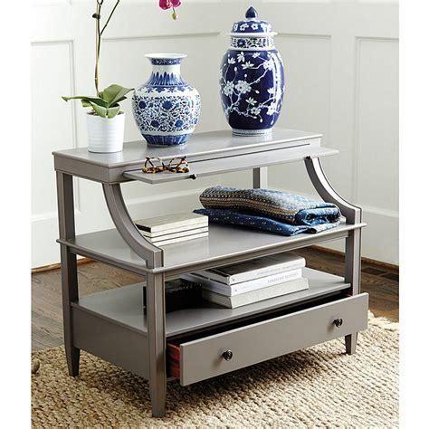 ballard designs side table sidney open side table ballard designs