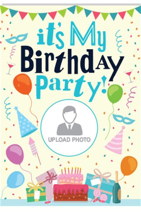 indian birthday invitation cards birthday invitation cards personalized birthday invitation card in india printland