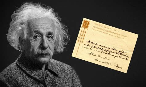 albert einstein biography in simple english albert einstein tips a waiter a note and its now worth