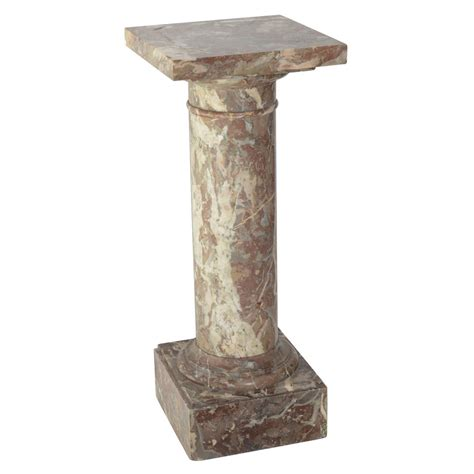 Marble Pedestals italian marble pedestal at 1stdibs