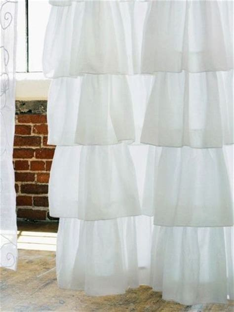tier curtains for bedroom white tiered curtain make from old bed sheets for the