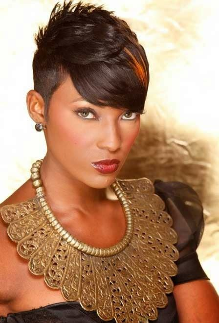 black hair media short hairstyles short hairstyles best black short hairstyles 2016 sle