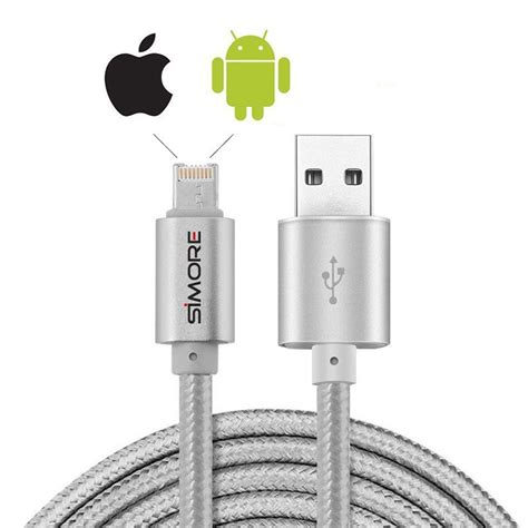 Usb Cable For Iphone Lightning Cable Smartphone Tablet For Dji dualcable lightning micro usb charging and syncing cable