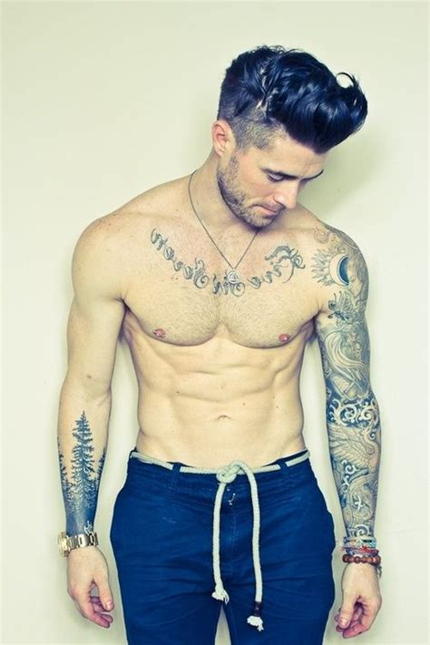 tattoos for guys tumblr models with tattoos models with tattoos