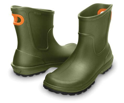 mens cheap wellington boots new mens genuine crocs wellies pull on wellington