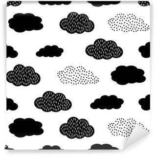 black and white pattern baby kids room wall murals change your space pixers 174