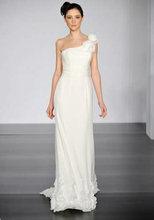 One Shoulder Wedding Dress by Formal Wedding Dresses Fashion One Shoulder Taffeta A