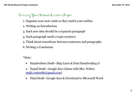6th grade research paper 6th grade research paper introduction