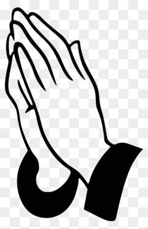 Praying Hands Prayer Bone Skull Drawing - Skeleton Praying