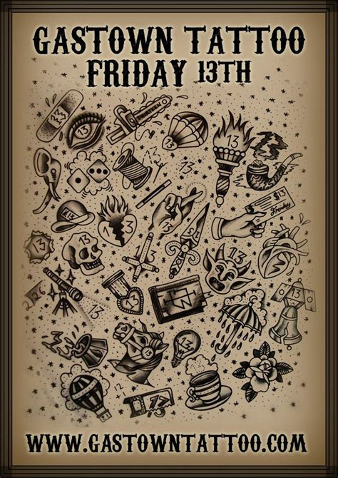 friday the 13th 13 tattoos 1000 images about friday 13th ink on ouija