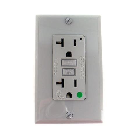 leviton receptacle leviton smart lock gfci lighted receptacle 7899 hgg receptacles electrical