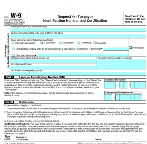 Printable W9 Tax Form 2015 Dolap Magnetband Co Docusign W9 Template