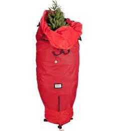 upright christmas tree storage bag in christmas tree storage
