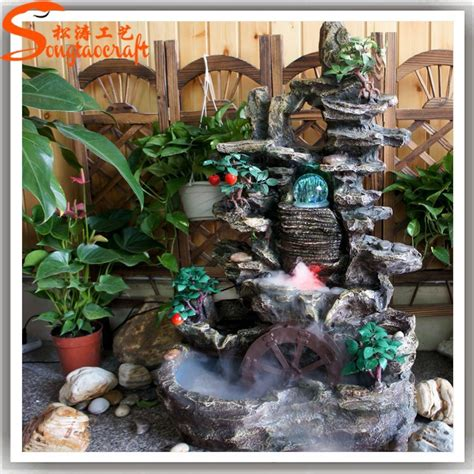 waterfall decoration for homes landscape indoor wall