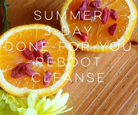 Summer Detox Cleanse by Summer 3 Day Detox And Reboot Vianutrition