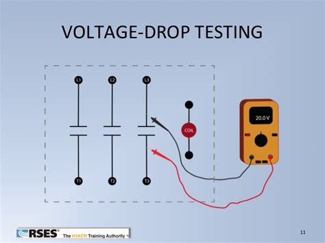 how to calculate voltage drop across a resistor in series how do you calculate voltage drop across a resistor 28 images testing the contactor when to