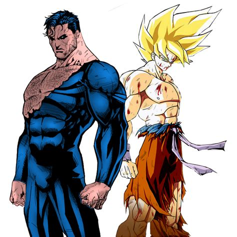 imagenes de wolverine vs superman goku versus superman battle of the normals whowouldwin