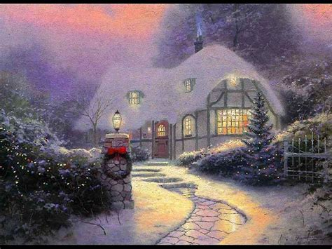 wallpaper christmas scenes christmas winter scenes wallpapers wallpaper cave
