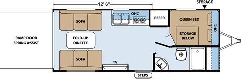 travel trailer toy hauler floor plans xlr hyperlite travel trailer toy haulers floorplans by