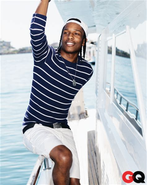 Asap Rocky Wardrobe by A Ap Mob 187 Gq Summer Style With A Ap Rocky