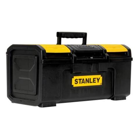 home depot tool box stanley 19 in tool box stst19410 the home depot