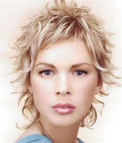 hairstyles unruly hair short crop wavy hairstyle