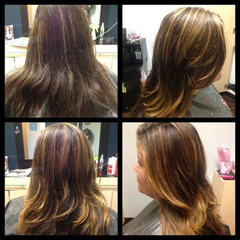 balayage highlights for grey hair before and after balayage hair before after balayage before and after