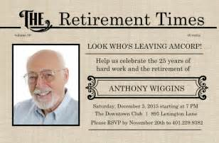 Retirement Flyer Template Free by Retirement Flyer Template Free Printable Retirement