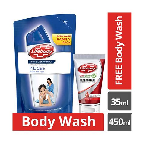 Harga Sabun Mandi Lifebuoy by Lifebuoy Sabun Cair Total 10 Botol 300ml Daftar Update