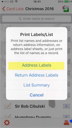 printing address labels outlook printing address labels mycardlists