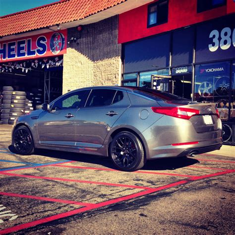 Kia Optima Wheel Size Kia Optima Custom Wheels Xxr 530 18x8 75 Et 35 Tire