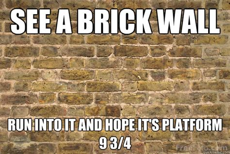 Brick Wall Meme - brick wall memes quickmeme