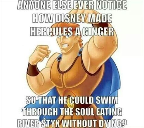 Ginger Snap Meme - blow your mind 26 photos disney hercules and awesome