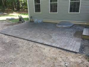 Paver Patio Edging Paver Patio Ma Concord Stoneworks