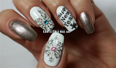 nail design for new year new years nails diy nail tutorial