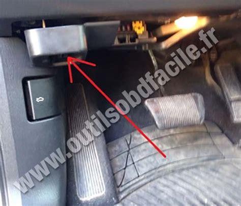 obd2 connector location in jeep grand wj 1998