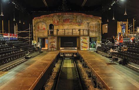 Set Design Museum London   backstage set design steams ahead in york s temporary
