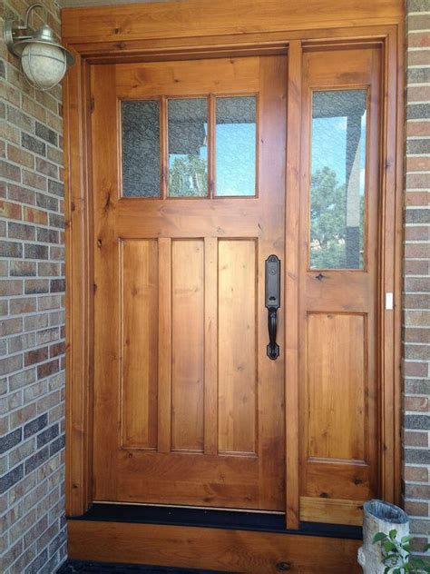 glass front entry door sidelight 27 cool front door designs with sidelights shelterness