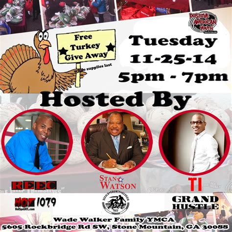 Free Turkey Giveaway 2014 - free turkey giveaway in atlanta str8 drop