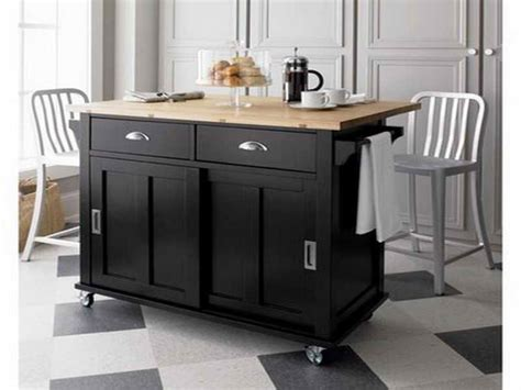 attractive kitchen island on wheels with seating