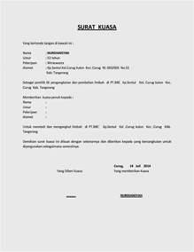 contoh surat pernyataan yang sah contoh soal2
