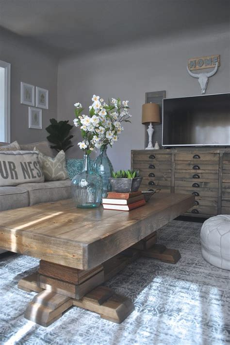 pin by shanty 2 chic build an easy pedestal coffee table shanty 2 chic