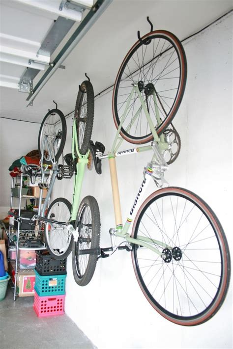 how to hang bicycles from the ceiling hanging bikes