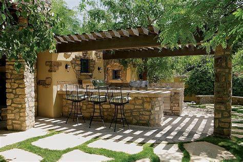 para patio 25 ideas de dise 241 os r 250 sticos para decorar el patio