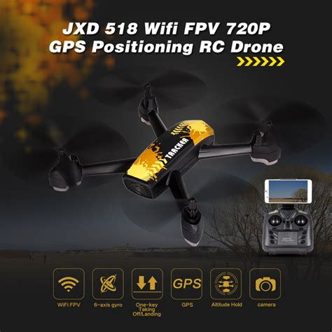 Jxd 507w Fpv Wifi Live Altitude Hold Quadcopter Rc yellow jxd 518 2 4g 720p wifi fpv gps positioning altitude hold rc quadcopter rcmoment