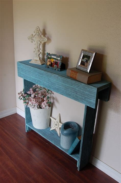 Thin Entryway Table by Console Table Any Color Cedar Wood Wall Table Thin