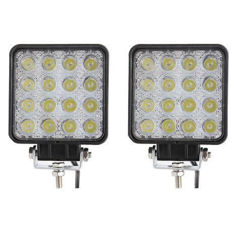 Led Light Bar For Sale Northpole Light 2x 48w Square Led Light Bar Spot Lights Led Road Work Lights Driving Fog