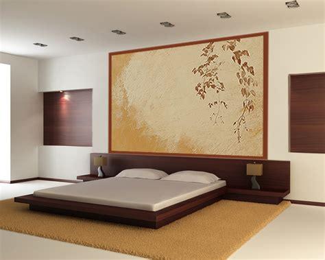 deco chambre bois d 233 co chambre lit marron